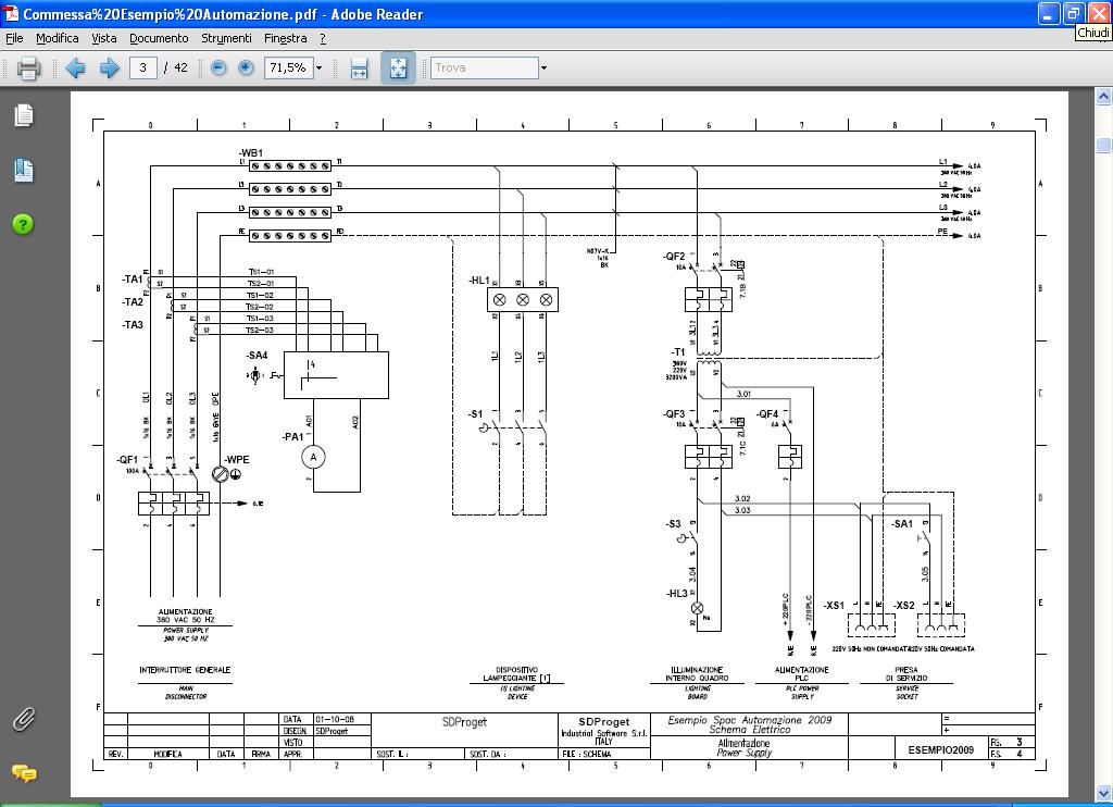 Schemi Elettrici Programma Gratis : Software cad elettrico spac automazione progettazione