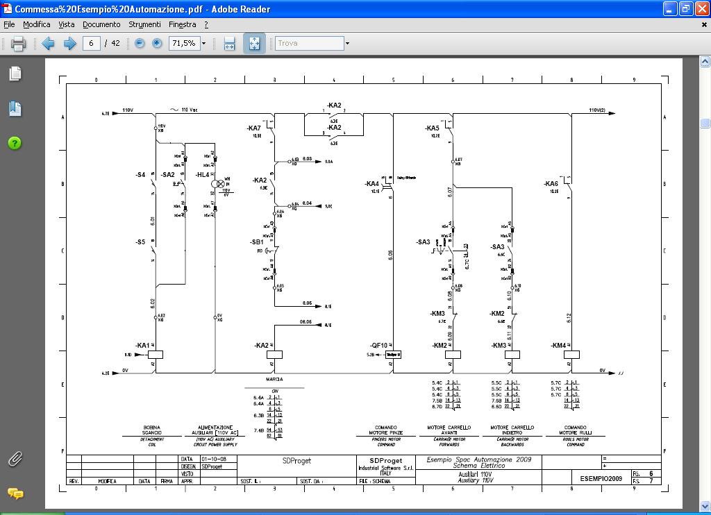 Schemi Elettrici Unifilari Dwg : Software cad elettrico spac automazione progettazione