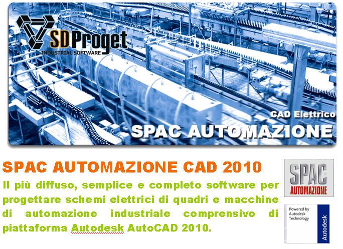 Schemi Quadri Elettrici Software Gratis : Software cad elettrico spac automazione progettazione